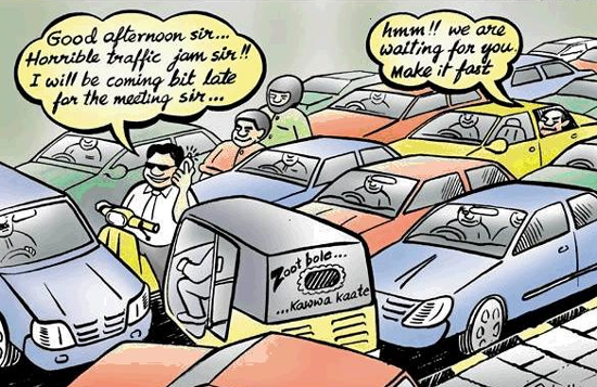 traffic jam(2)